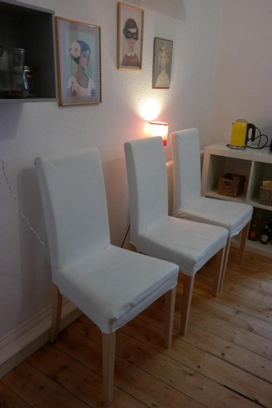 3 Esstisch Stühle Zu Verschenken In Heidelberg