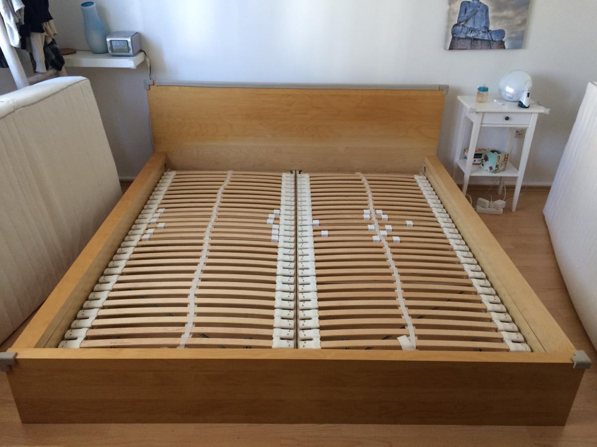 Ikea Malm Bett 180x200 Anleitung : ikea bett malm 180x200 zu verschenken in mannheim free ~ Watch28wear.com Haus und Dekorationen