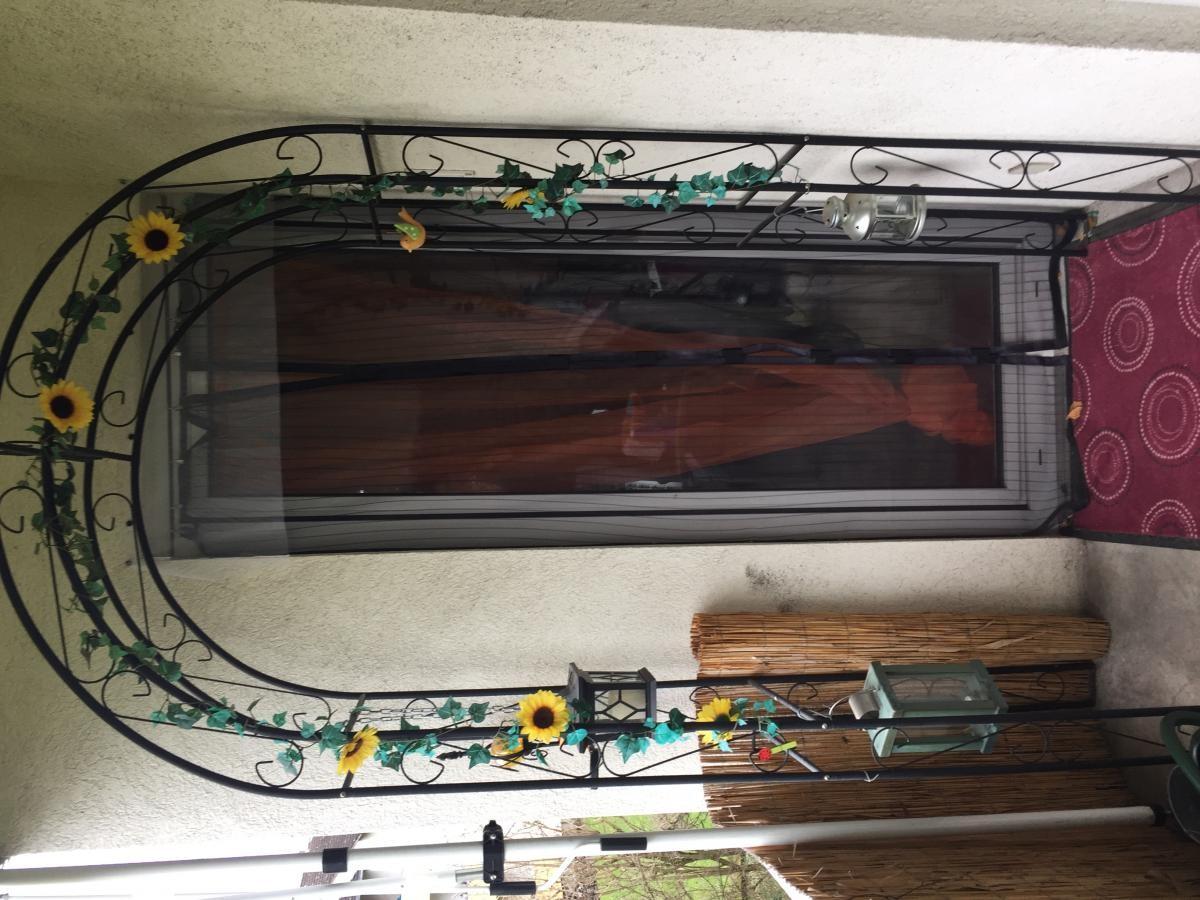 balkon aus metall bertopf aus metall er set balkon pflanzen blumen terrassen topf vase eimer. Black Bedroom Furniture Sets. Home Design Ideas