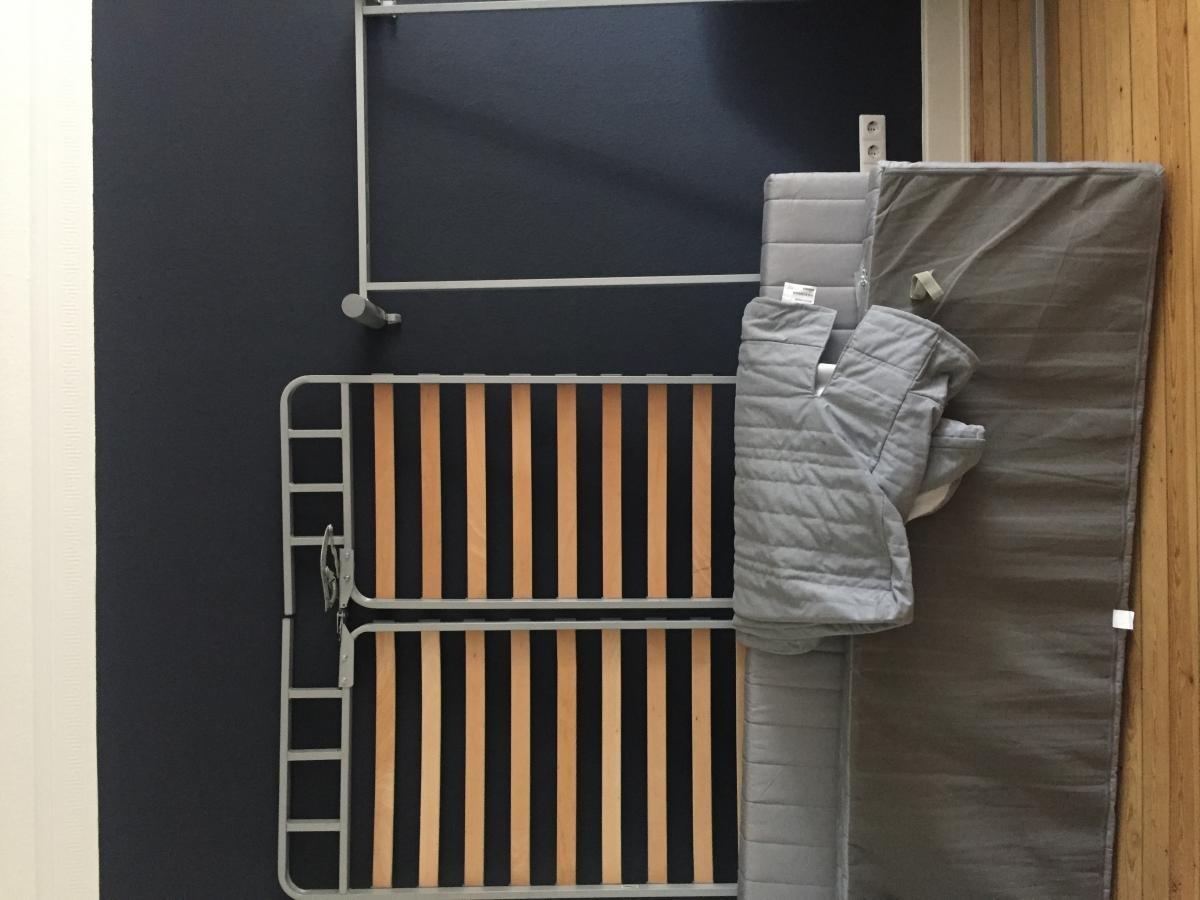 Bettsofa Zu Verschenken Ikea Beddinge Grau Zu Verschenken In