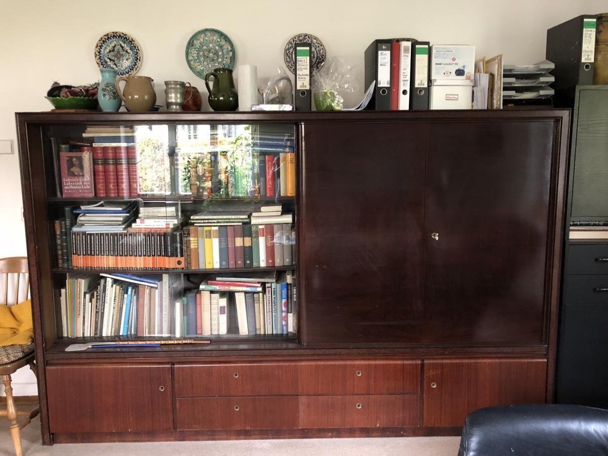Wohnzimmerschrank Sideboard Kleiner Schrank Holz Zu Verschenken