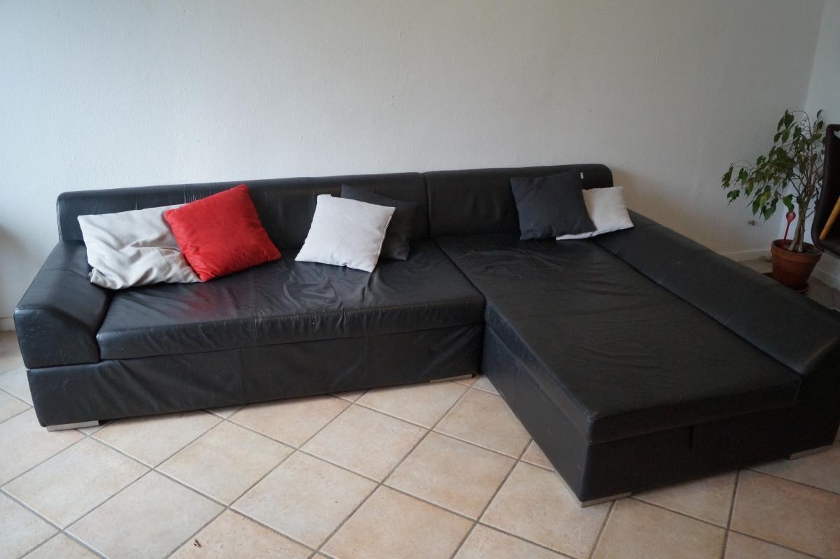 Fesselnd Zweiteiliges Sofa Mit Stauraum Zu Verschenken!