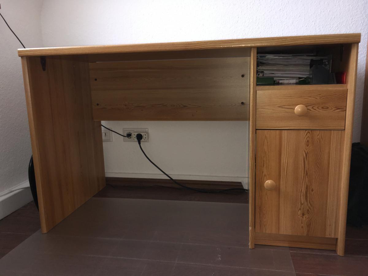 Schreibtisch Unterschrank Holz ~ Tv unterschrank vintage birke massiv antik look weiß
