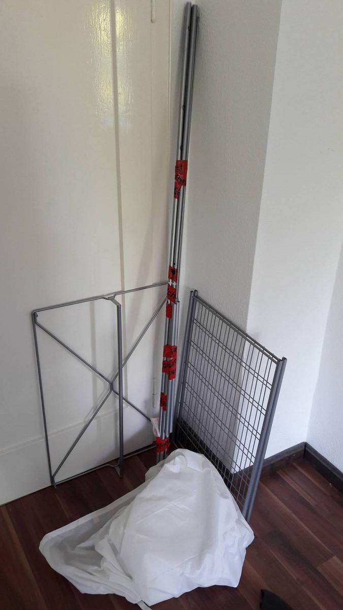 ikea breim kleiderschrank wei zu verschenken in mannheim. Black Bedroom Furniture Sets. Home Design Ideas