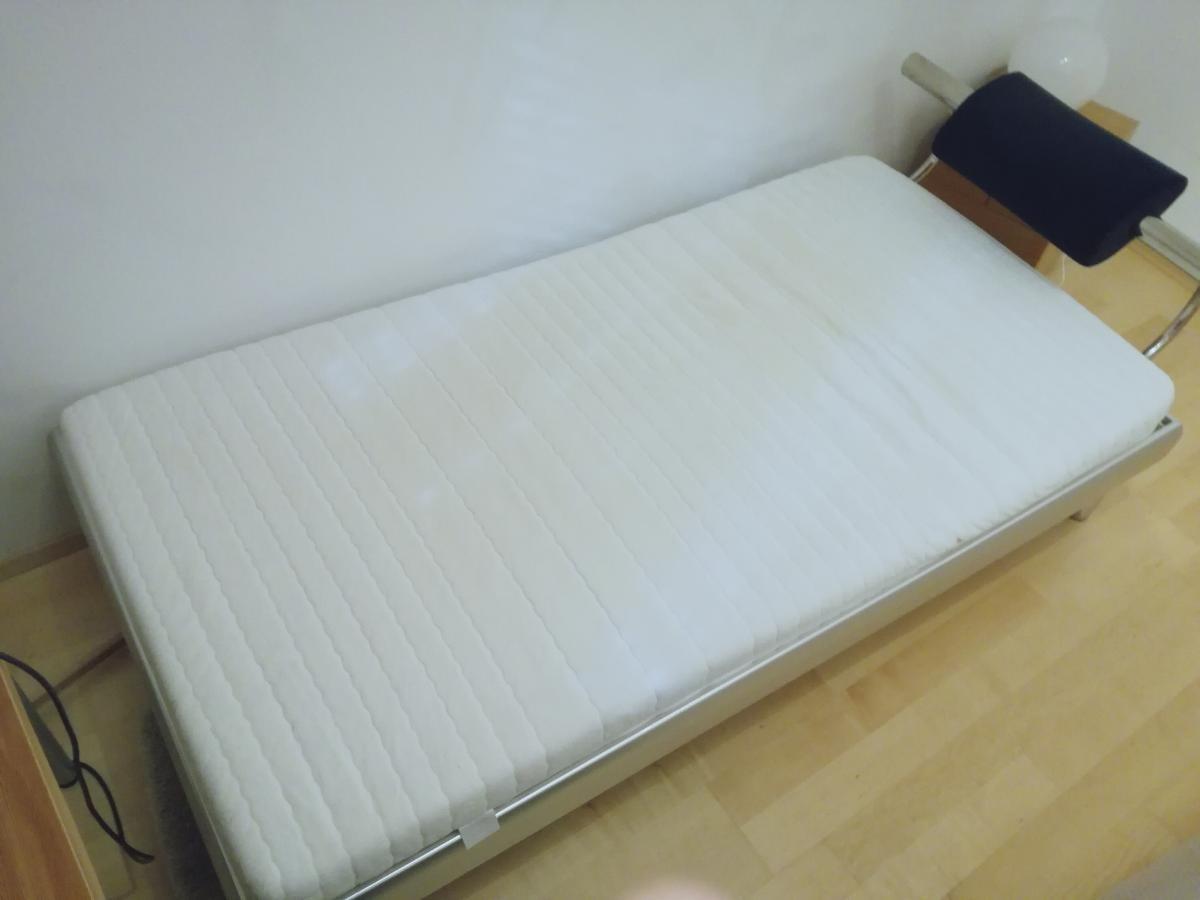 bett matratze lattenrost zu verschenken in t bingen. Black Bedroom Furniture Sets. Home Design Ideas