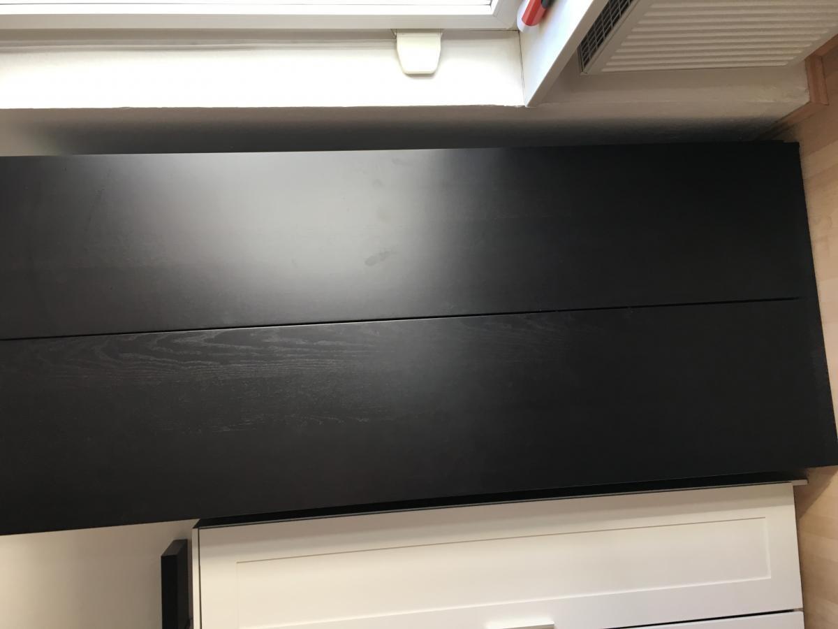 Ikea Pax Kleiderschrank In Schwarz Zu Verschenken In Mannheim Free