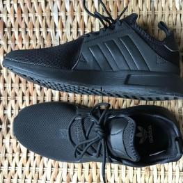 Schwarze Adidas