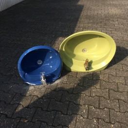 2 Retro  Waschbecken