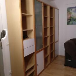 Wohnzimmer Regalwand Buche 213 x 241 x 44 1