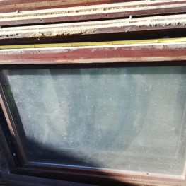 Holzfenster mit Oberlicht  2