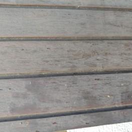 Garagentor aus Holz 2