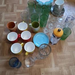 Tassen, Gläser, Teller