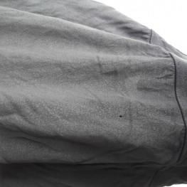 Graues langes T-Shirt  1