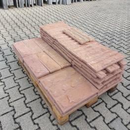 Sandstein-Bossenverblender