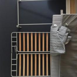 Bettsofa zu verschenken // IKEA Beddinge grau