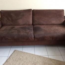 Zweisitzer Sofa zu verschenken