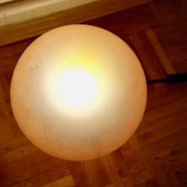 Tischlampe in Orange