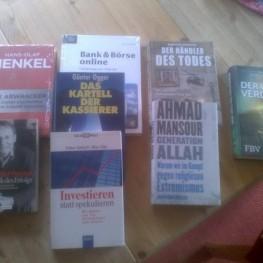 Bücherkiste oder einzelne Bücher zu verschenken