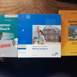 3x Bücher für Häuslebauer