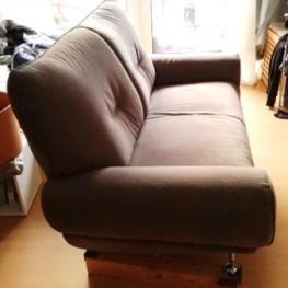 Graues 2-Sitzer Sofa 2