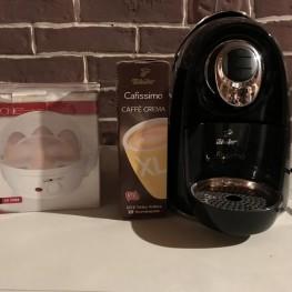 Cafissimo Kaffeemaschine und Eierkocher