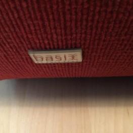 Rote Rolf Benz Couch in super Zustand abzugeben 1