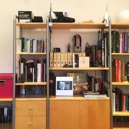 Ikea Niklas Regelsystem / Birke und silberchrom