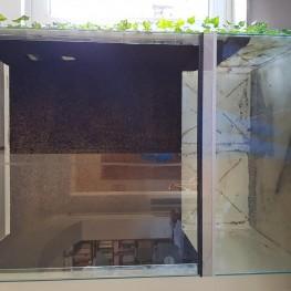 Glas Terrarium 1,50x1,00x0,60 höhexbreitexlänge