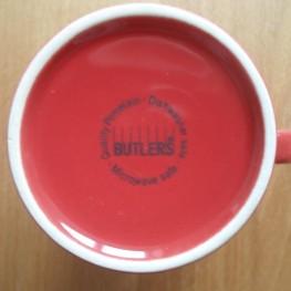 Butlers Tasse rot bspw. zum Selbstgestalten 2