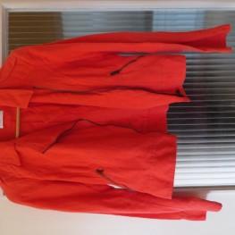 dünne rote Jacke, Gr. S 1
