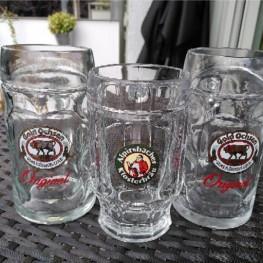 3 Biergläser