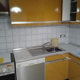 Küchenzeile ohne Spülmaschine und Herd