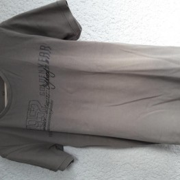 Herren-T-shirt hellbraun/beige