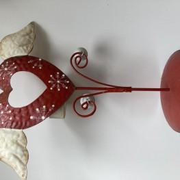 Dekoratives Teelicht Herz
