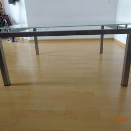 Couchtisch/Wohnzimmertisch Glas-Metall 1