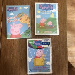 Peppa Pig DVDs englisch