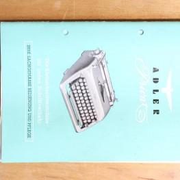 Schreibmaschine Adler 1
