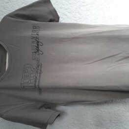 Herren-T-shirt hellbraun/beige 1
