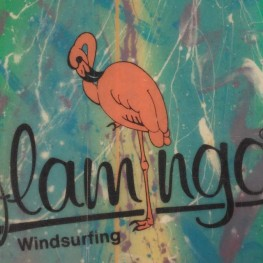 Surfboard Flamingo Custom Made 265, ca. 90l