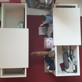 Regale, Ikea- Lack Regale und Schieberegale 2