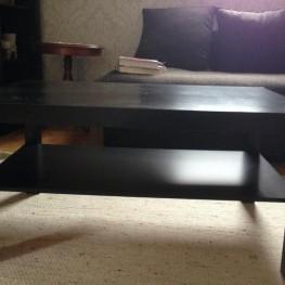 IKEA Couchtisch schwarz