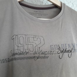 Herren-T-shirt hellbraun/beige 2