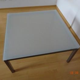 Couchtisch/Wohnzimmertisch Glas-Metall