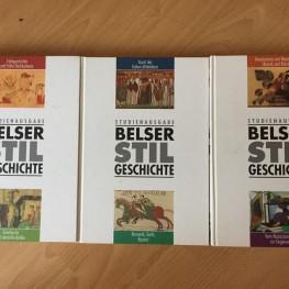 Belser Stilgeschichte (3 Bände)