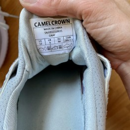 Camel Crown Sneaker grau  1