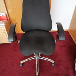 Schreibtischstuhl schwarz