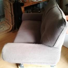 Graues 2-Sitzer Sofa 1