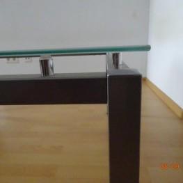 Couchtisch/Wohnzimmertisch Glas-Metall 2