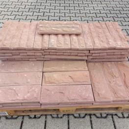 Sandstein-Bossenverblender 2