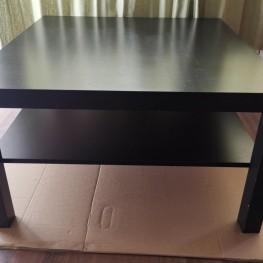 Couch Tisch IKEA lack schwarz 1